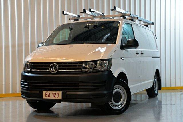 Used Volkswagen Transporter T6 MY16 TDI340 SWB DSG Hendra, 2016 Volkswagen Transporter T6 MY16 TDI340 SWB DSG White 7 Speed Sports Automatic Dual Clutch Van