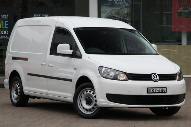 Used Volkswagen Caddy 2KN MY15 TDI250 BlueMOTION Maxi DSG Rosebery, 2015 Volkswagen Caddy 2KN MY15 TDI250 BlueMOTION Maxi DSG White 7 Speed Sports Automatic Dual Clutch