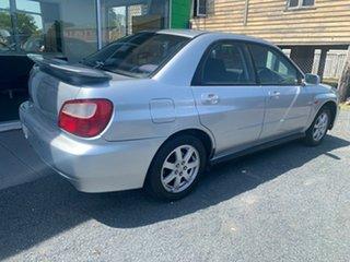 2003 Subaru Impreza RS Silver Automatic Sedan.