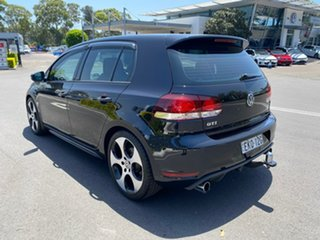 2011 Volkswagen Golf VI MY12 GTi Black 6 Speed Manual Hatchback
