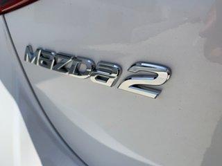 2017 Mazda 2 DJ2HAA Maxx SKYACTIV-Drive White 6 Speed Sports Automatic Hatchback