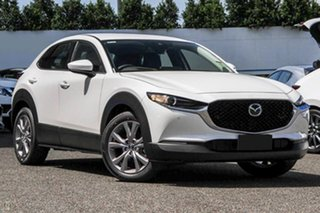 2020 Mazda CX-30 DM2W7A G20 SKYACTIV-Drive Touring White 6 Speed Sports Automatic Wagon.