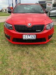 2016 Skoda Octavia NE MY17 RS DSG 162TSI Red 6 Speed Sports Automatic Dual Clutch Wagon.