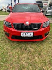 2016 Skoda Octavia NE MY17 RS DSG 162TSI Red 6 Speed Sports Automatic Dual Clutch Wagon.