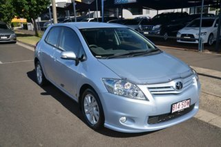 2011 Toyota Corolla ZRE152R MY11 Ascent Sport Blue 6 Speed Manual Hatchback.