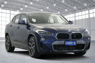 2019 BMW X2 F39 sDrive18i Coupe DCT Blue 7 Speed Sports Automatic Dual Clutch Wagon.