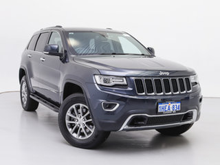 2014 Jeep Grand Cherokee WK MY14 Limited (4x4) Grey 8 Speed Automatic Wagon.