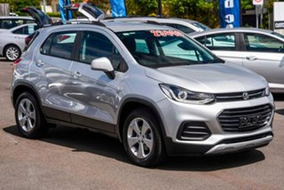 2019 Holden Trax TJ MY19 LS Silver 6 Speed Automatic Wagon.