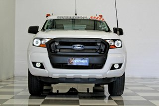 2016 Ford Ranger PX MkII MY17 XL 2.2 Hi-Rider (4x2) White 6 Speed Automatic Crew Cab Chassis
