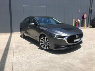 2020 Mazda 3 BP2SHA X20 SKYACTIV-Drive Astina Machine Grey 6 Speed Sports Automatic Sedan.
