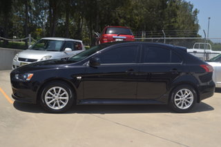 2012 Mitsubishi Lancer CJ MY12 Activ Sportback Black 6 Speed Constant Variable Hatchback