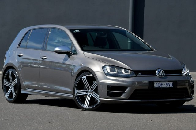 Used Volkswagen Golf VII MY15 R 4MOTION Moorabbin, 2015 Volkswagen Golf VII MY15 R 4MOTION Grey 6 Speed Manual Hatchback