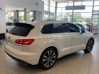 2020 Volkswagen Touareg CR MY21 V8 TDI Tiptronic 4MOTION R-Line White 8 Speed Sports Automatic Wagon