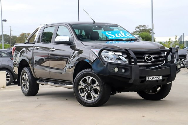 Used Mazda BT-50 UR0YG1 GT Kirrawee, 2018 Mazda BT-50 UR0YG1 GT Bronze 6 Speed Sports Automatic Utility