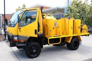1999 Mitsubishi Canter Yellow Manual Firetruck