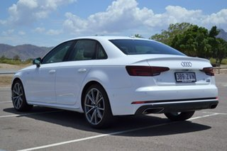 2019 Audi A4 B9 8W MY19 45 TFSI S Tronic Quattro White 7 Speed Sports Automatic Dual Clutch Sedan