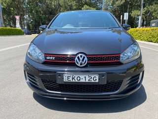 2011 Volkswagen Golf VI MY12 GTi Black 6 Speed Manual Hatchback.