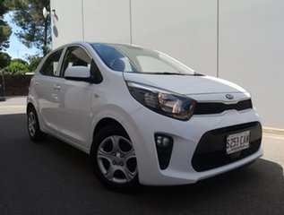 2019 Kia Picanto JA MY19 S White 4 Speed Automatic Hatchback.
