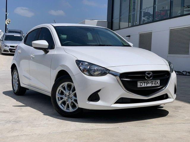 Used Mazda 2 DJ2HAA Maxx SKYACTIV-Drive Liverpool, 2017 Mazda 2 DJ2HAA Maxx SKYACTIV-Drive White 6 Speed Sports Automatic Hatchback
