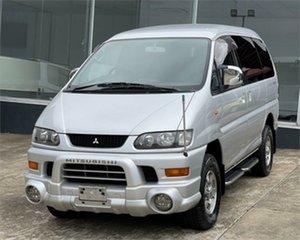 2004 Mitsubishi Delica PD6W Spacegear Silver Automatic Van Wagon.