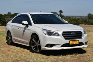 2016 Subaru Liberty B6 MY16 2.5i CVT AWD White 6 Speed Constant Variable Sedan.