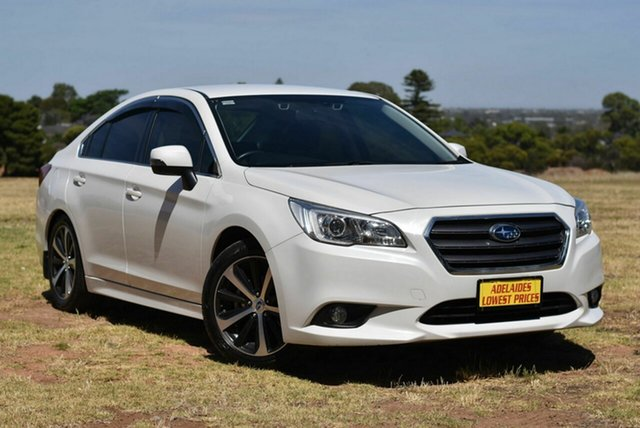 Used Subaru Liberty B6 MY16 2.5i CVT AWD Morphett Vale, 2016 Subaru Liberty B6 MY16 2.5i CVT AWD White 6 Speed Constant Variable Sedan