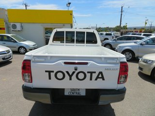 2019 Toyota Hilux GUN136R MY19 SR Hi-Rider White 6 Speed Manual Double Cab Pick Up