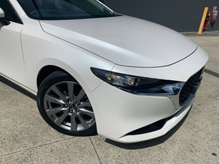 2020 Mazda 3 BP2SLA G25 SKYACTIV-Drive GT Snowflake White 6 Speed Sports Automatic Sedan.