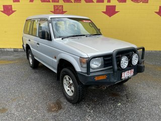 1998 Mitsubishi Pajero NL GL Silver 5 Speed Manual Wagon.