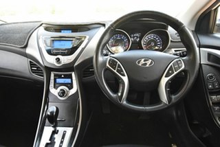 2011 Hyundai Elantra MD Elite White 6 Speed Sports Automatic Sedan