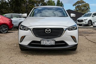 2015 Mazda CX-3 DK2W7A Maxx SKYACTIV-Drive White 6 Speed Sports Automatic Wagon