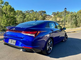 2020 Hyundai i30 CN7.V1 MY21 Elite Intense Blue 6 Speed Auto Sequential Sedan