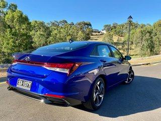 2020 Hyundai i30 CN7.V1 MY21 Elite Intense Blue 6 Speed Auto Sequential Sedan.