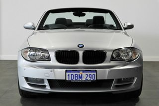 2009 BMW 120i E88 120i Silver 6 Speed Automatic Convertible.