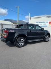 2016 Ford Ranger PX MkII Wildtrak Double Cab Black 6 Speed Manual Utility.