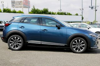 2020 Mazda CX-3 DK2W7A Akari SKYACTIV-Drive FWD Blue 6 Speed Sports Automatic Wagon