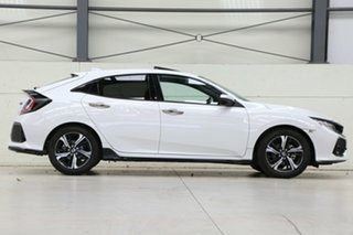 2019 Honda Civic 10th Gen MY18 RS Platinum White 1 Speed Constant Variable Hatchback