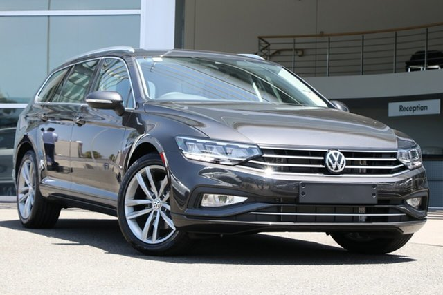 Demo Volkswagen Passat 3C (B8) MY20 140TSI DSG Business Brookvale, 2020 Volkswagen Passat 3C (B8) MY20 140TSI DSG Business Manganese Grey Metallic 7 Speed