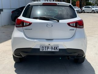 2017 Mazda 2 DJ2HAA Maxx SKYACTIV-Drive White 6 Speed Sports Automatic Hatchback.