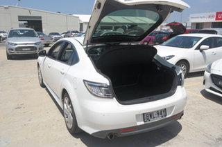 2011 Mazda 6 GH1052 MY10 Luxury White 5 Speed Sports Automatic Sedan