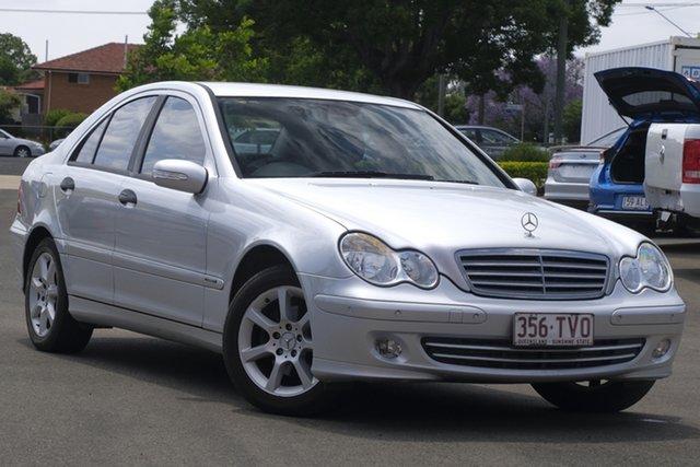 Used Mercedes-Benz C-Class W203 MY2006 C180 Kompressor Classic Toowoomba, 2005 Mercedes-Benz C-Class W203 MY2006 C180 Kompressor Classic Silver 5 Speed Automatic Sedan