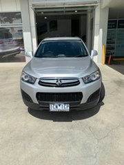 2013 Holden Captiva CG MY14 7 LS Silver 6 Speed Sports Automatic Wagon.