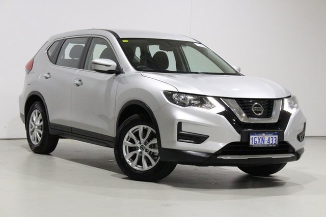 Used Nissan X-Trail T32 Series 2 ST 7 Seat (2WD) Bentley, 2019 Nissan X-Trail T32 Series 2 ST 7 Seat (2WD) Silver Continuous Variable Wagon