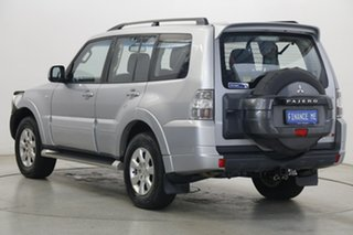 2014 Mitsubishi Pajero NW MY14 GLX-R Cool Silver 5 Speed Sports Automatic Wagon