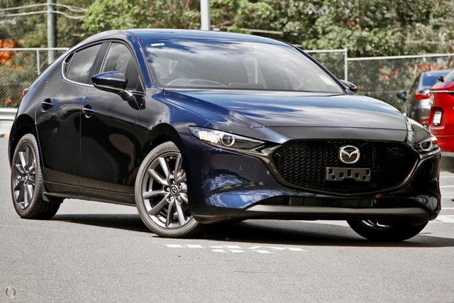 New Mazda 3 BP2HLA G25 SKYACTIV-Drive Evolve Waitara, 2020 Mazda 3 BP2HLA G25 SKYACTIV-Drive Evolve Blue 6 Speed Sports Automatic Hatchback