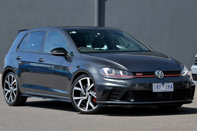 Used Volkswagen Golf VII MY17 GTI 40 Years Moorabbin, 2016 Volkswagen Golf VII MY17 GTI 40 Years Grey 6 Speed Manual Hatchback