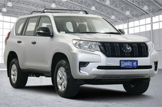 2018 Toyota Landcruiser Prado GDJ150R GX Silver 6 Speed Sports Automatic Wagon.