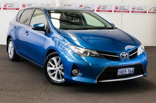 2013 Toyota Corolla ZRE182R Ascent Tidal Blue 7 Speed CVT Auto Sequential Hatchback.