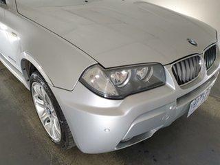 2008 BMW X3 E83 MY09 xDrive20d Steptronic Lifestyle Silver 6 Speed Automatic Wagon.