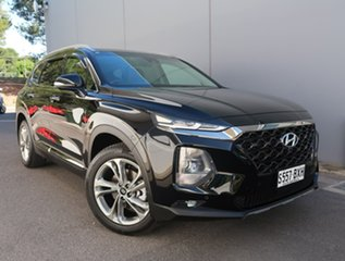 2018 Hyundai Santa Fe TM MY19 Highlander Black 8 Speed Sports Automatic Wagon.
